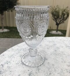 Clear Goblet Cups