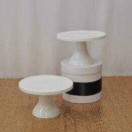 Small White Cake Stand
