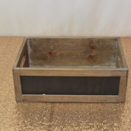 Small Blackboard Crate