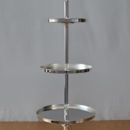 Three Tier Silver Platter