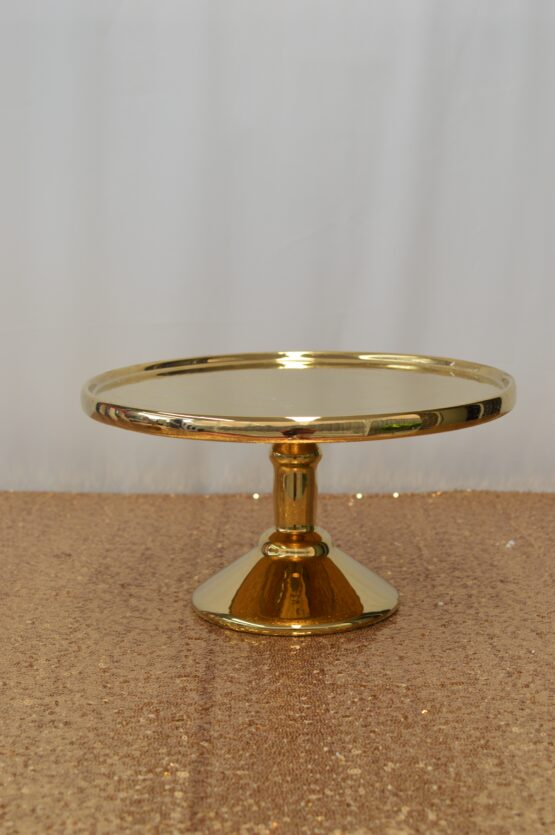 Gold Large Cake Stand