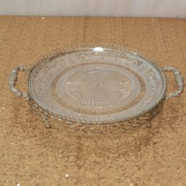 Gold Crystal Tray