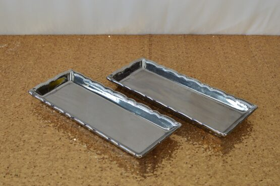 Silver Rectangle Platter