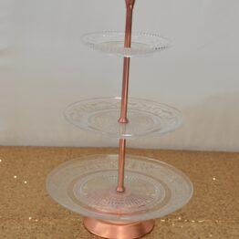 Copper Three Tier Stand