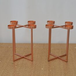 Copper Candle Centrepiece