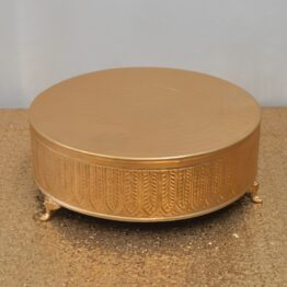 Gold Plateau Cake Stand