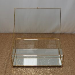 Rectangle Glass Trinket Box