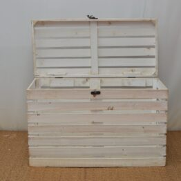 White Wooden Chest