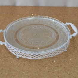 White Crystal Tray