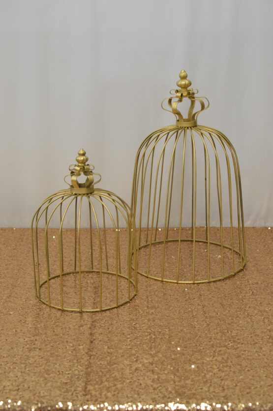 Gold Crown Cage