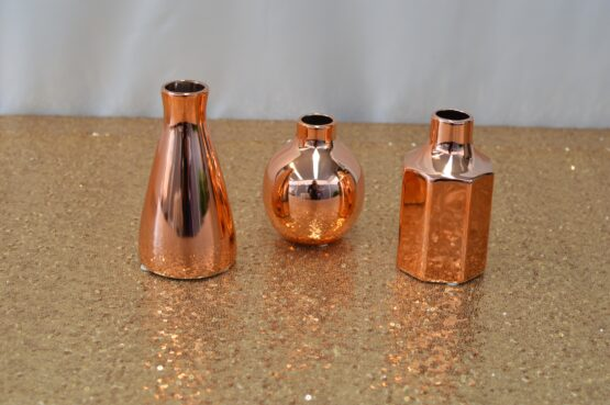 Copper Vase Set