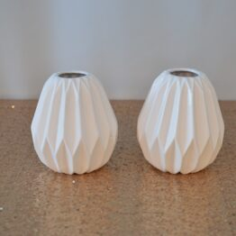 Medium White Vases