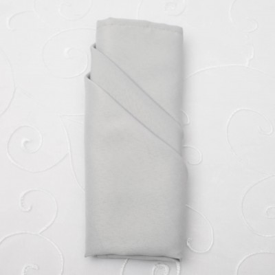 Silver Cloth Napkin
