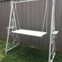 White Table Swing