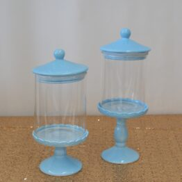 Blue Candy Jar