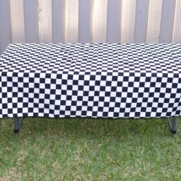 Childrens Check Tablecloth
