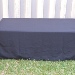 Childrens Black Tablecloth
