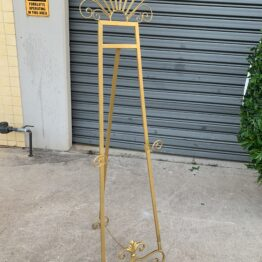 Gold Adjustable Easel