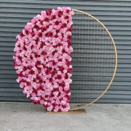 Mixed Pinks Floral Half Screen Display