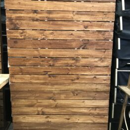 Timber Pallet Wall Backdrop