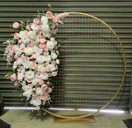 Light Pink Floral Screen