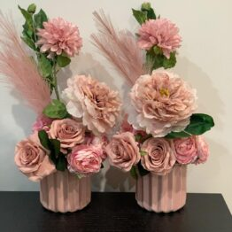 Dusty Pink Floral Arrangement