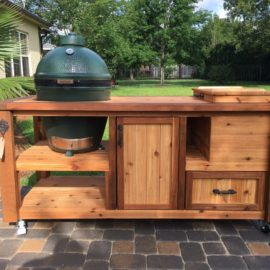 Grill Table / Grill Cabinet