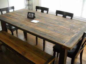 reclaimed-wood-farm-table