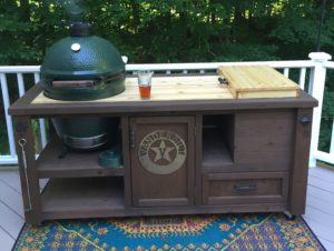 Grill-table-Big-Green-Egg-Large