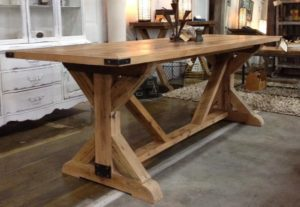 cross-leg-table-rustic-decor