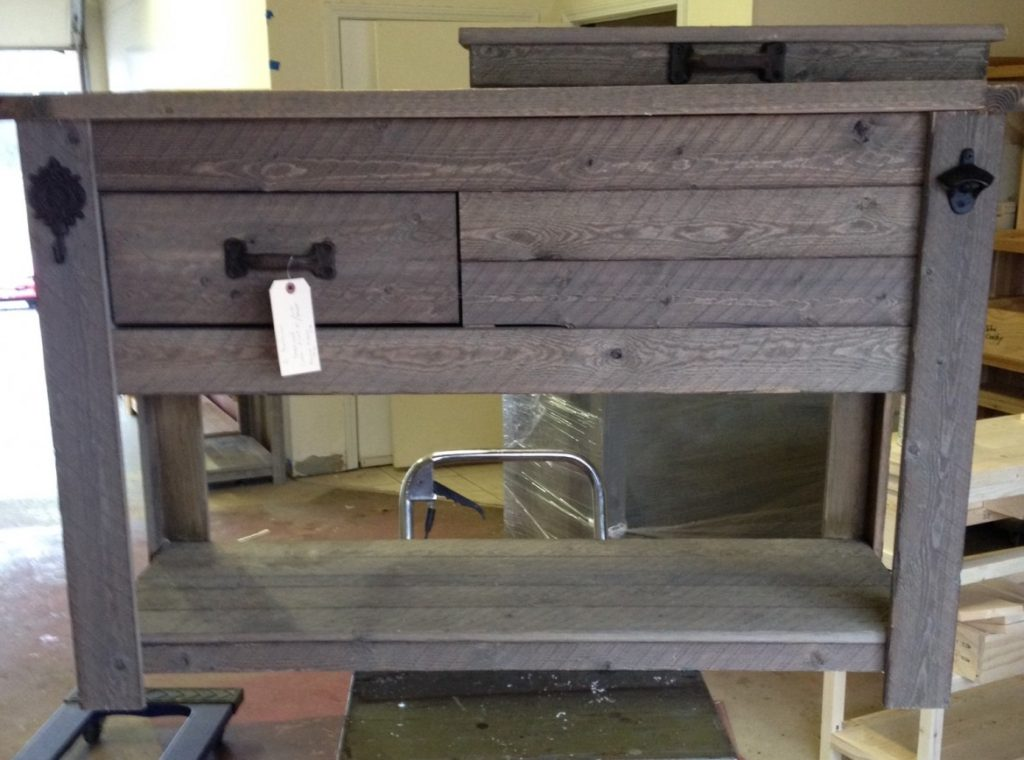 rustic-cooler-with-shelf-bottle-opener-drawer