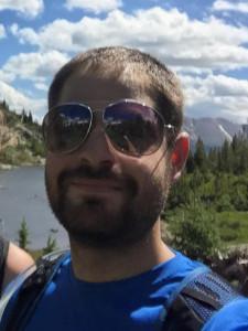 Alex hiking