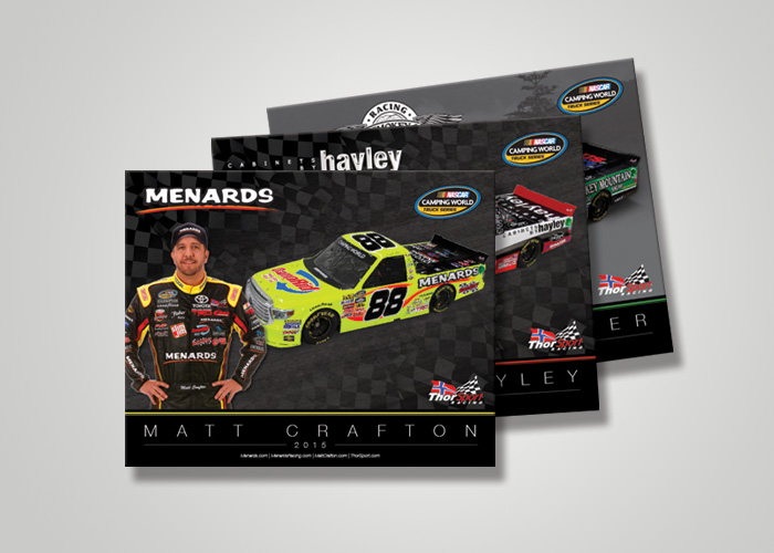 NASCAR Hero Card Design