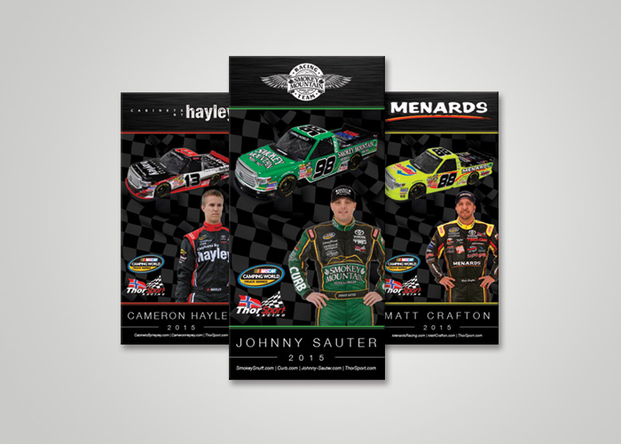 NASCAR Lanyard Card Design