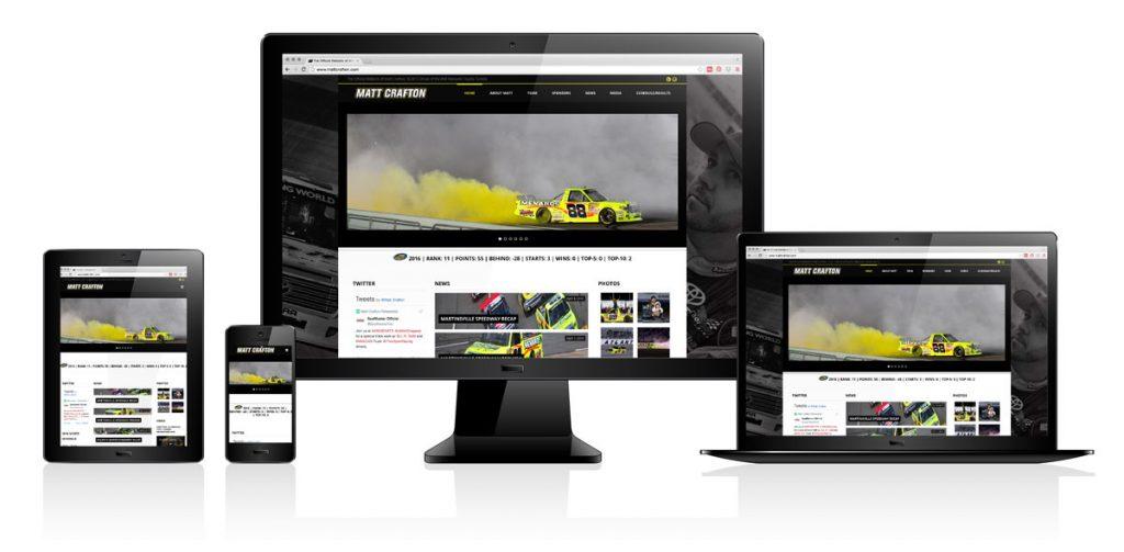 Matt Crafton   Website Design