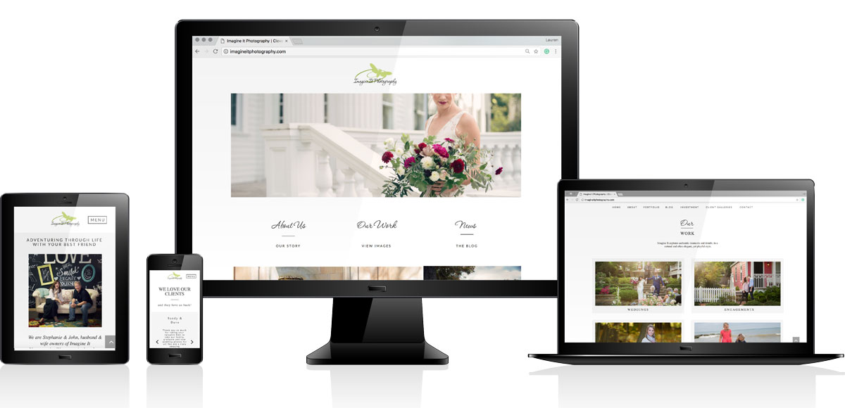 Imagine It Photography | Website Design