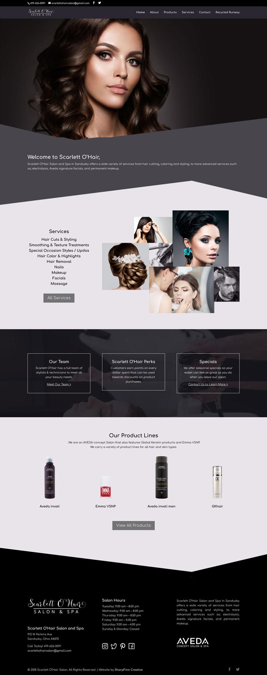 SharpFinn-Portfolio-ScarlettOhairWebsite-fullpreview