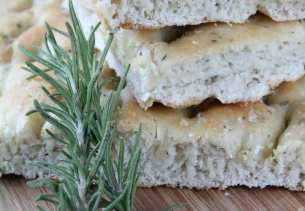 Herb Focaccia Bread from Mrs Happy Homemaker