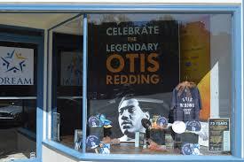 The storefront of the Otis Redding Foundation in Macon GA