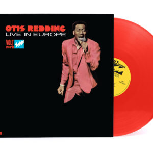 Otis Redding Live In Europe on red vinyl for Record Store Day