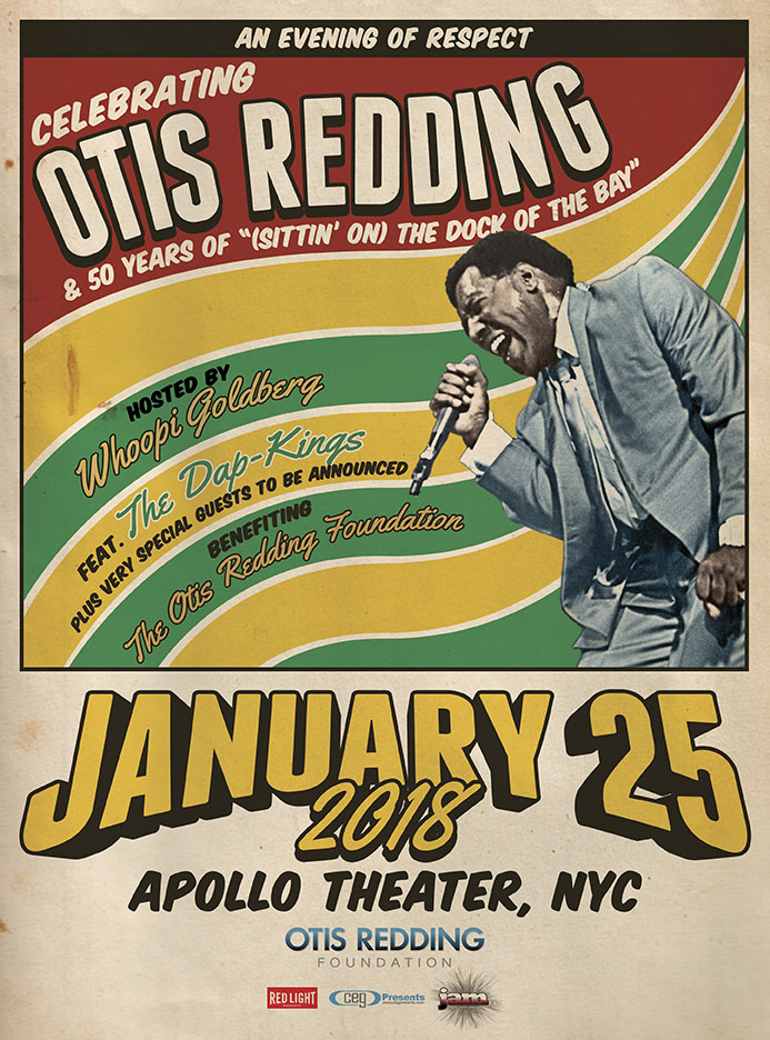 The 2018 Evening of Respect is January 25 at the Apollo Theater. Tickets on sale now.