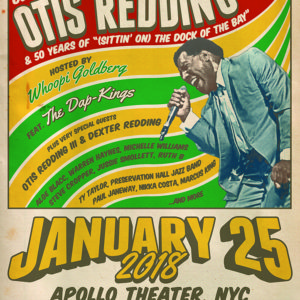 Otis Redding An Evening of Respect January 25 at the Apollo