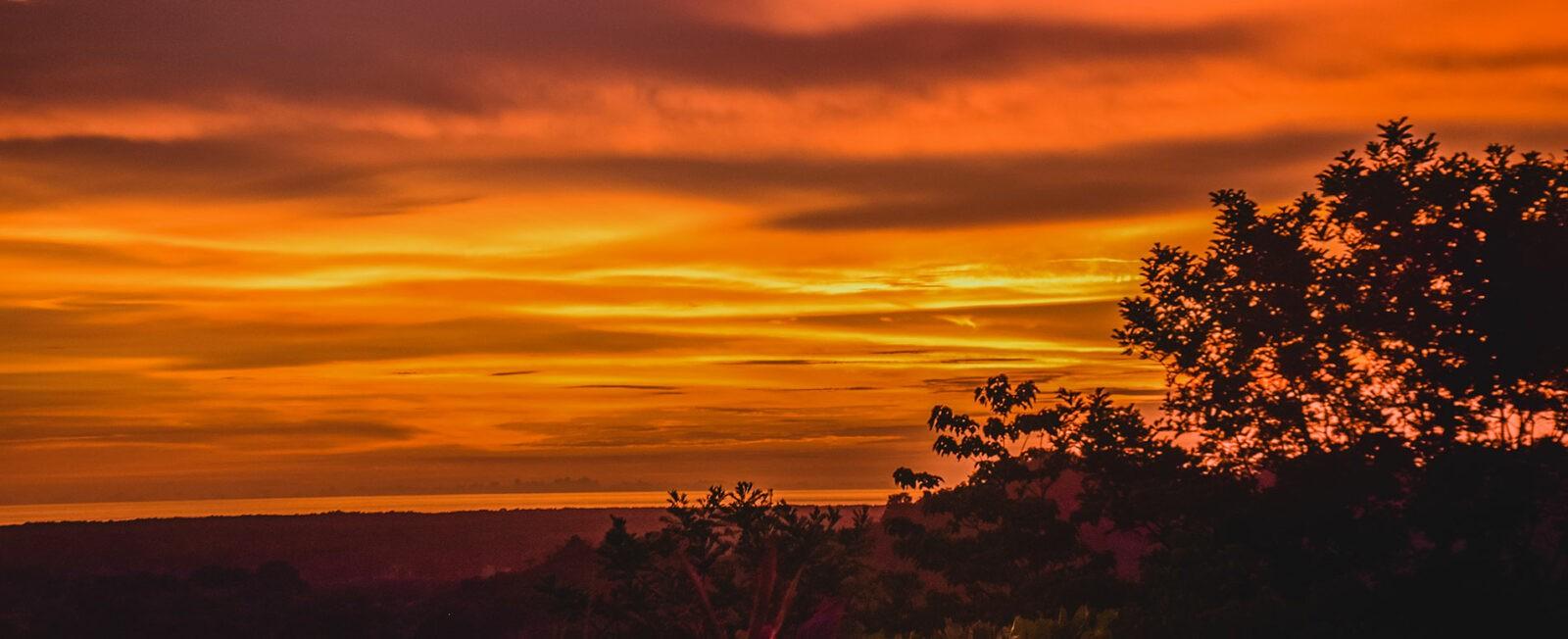 casa lapas sunset