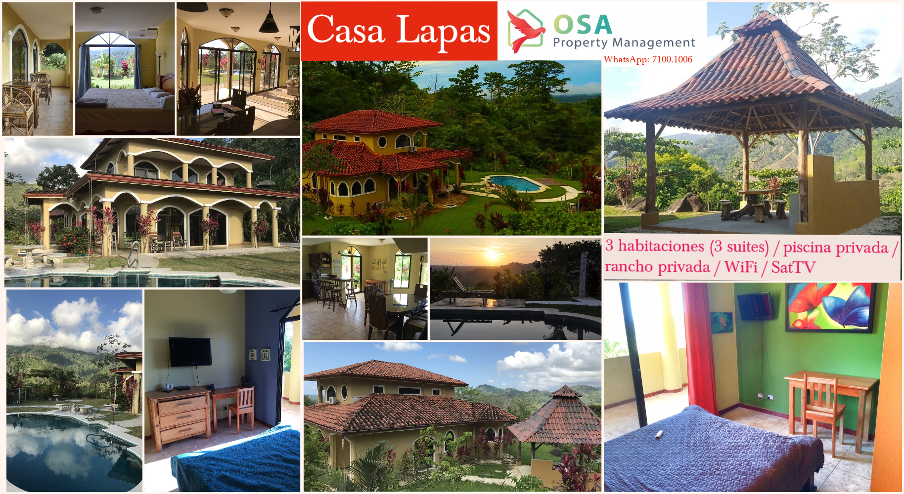 casa lapas costa rica vacation rental