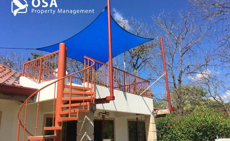 ojochal vacation rental deck
