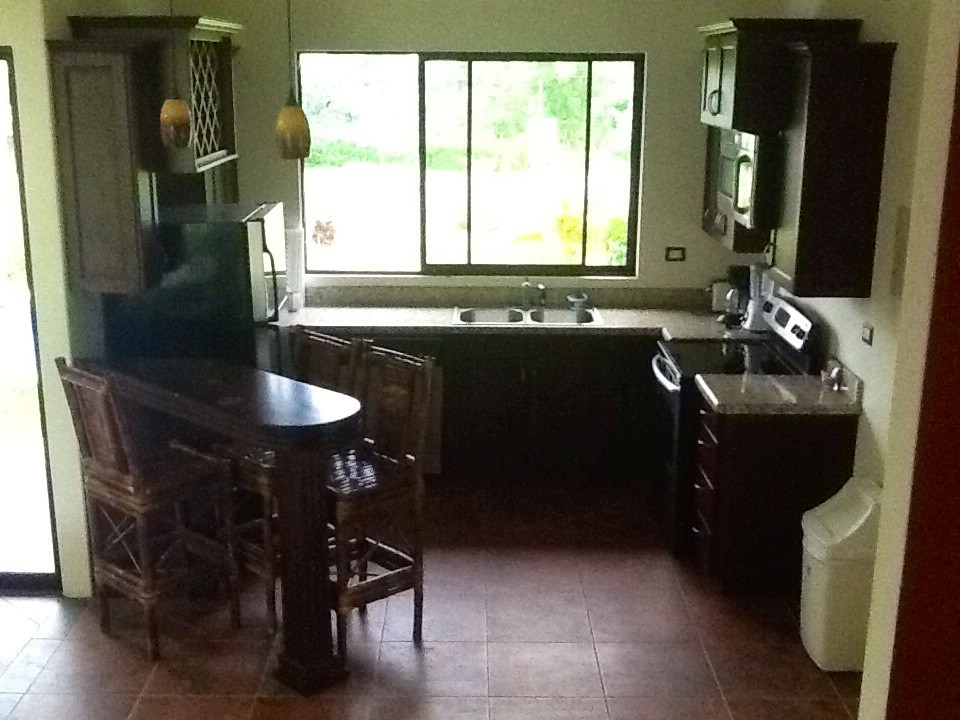 kitchen casa trogon costa rica