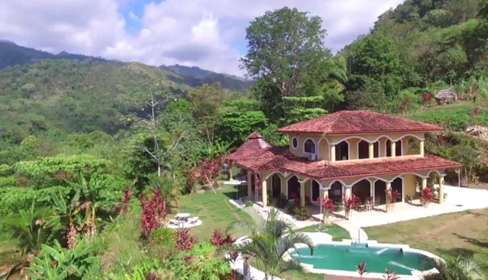drone photo casa lapas costa rica