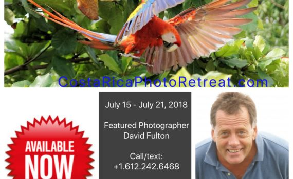 costa rica photo retreat 2018
