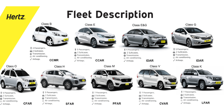 hertz car rental costa rica options