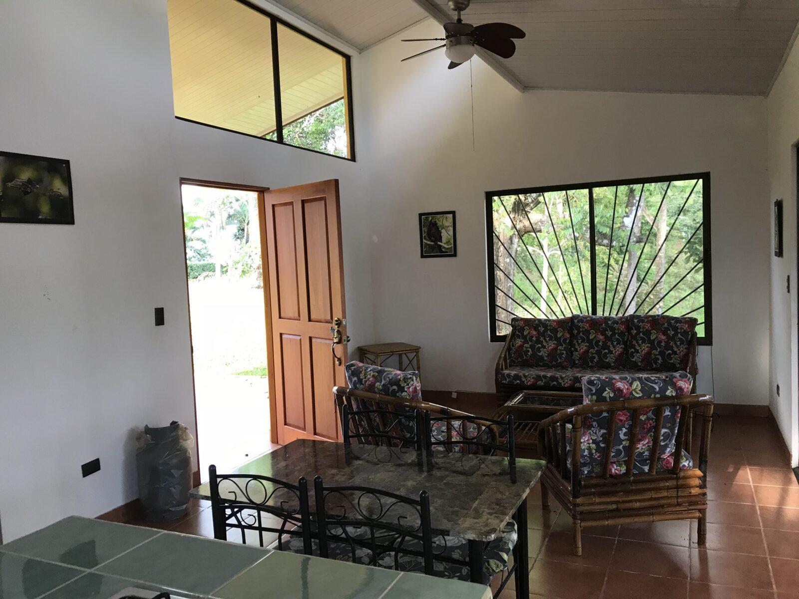 living room casa amarilla costa rica vacation rental